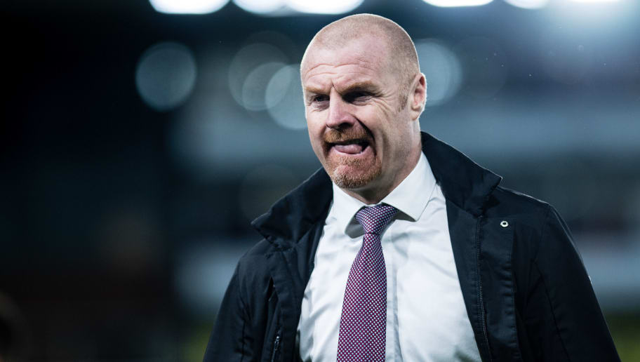 LONDON, ENGLAND - DECEMBER 01: manager Sean Dyche of Burnley FC during the Premier League match between Crystal Palace and Burnley FC at Selhurst Park on December 1, 2018 in London, United Kingdom. (Photo by Sebastian Frej/MB Media/Getty Images)