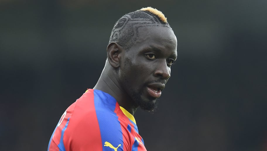 LONDON, ENGLAND - DECEMBER 30:  Mamadou Sakho of Crystal Palace looks on during the Premier League match between Crystal Palace and Chelsea FC at Selhurst Park on December 30, 2018 in London, United Kingdom. (Photo by Harriet Lander/Copa/Getty Images)