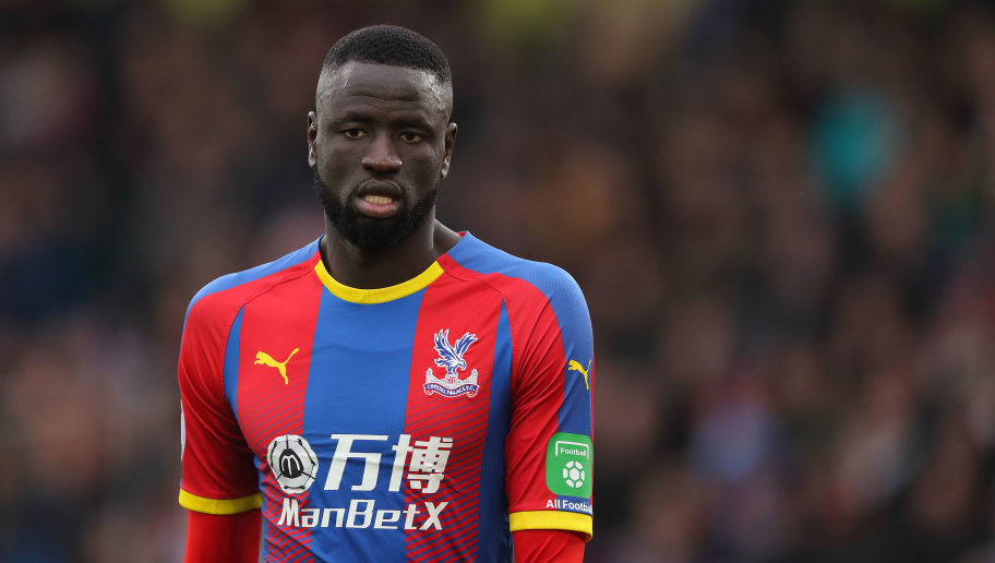LONDON, ENGLAND - DECEMBER 30: Cheikhou Kouyate of Crystal Palace during the Premier League match between Crystal Palace and Chelsea FC at Selhurst Park on December 30, 2018 in London, United Kingdom. (Photo by James Williamson - AMA/Getty Images)