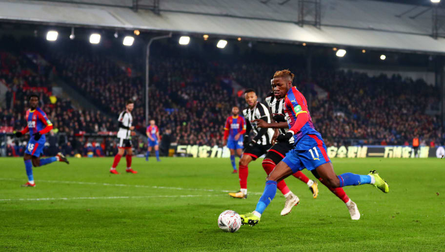 Wilfried Zaha,Mitch Rose