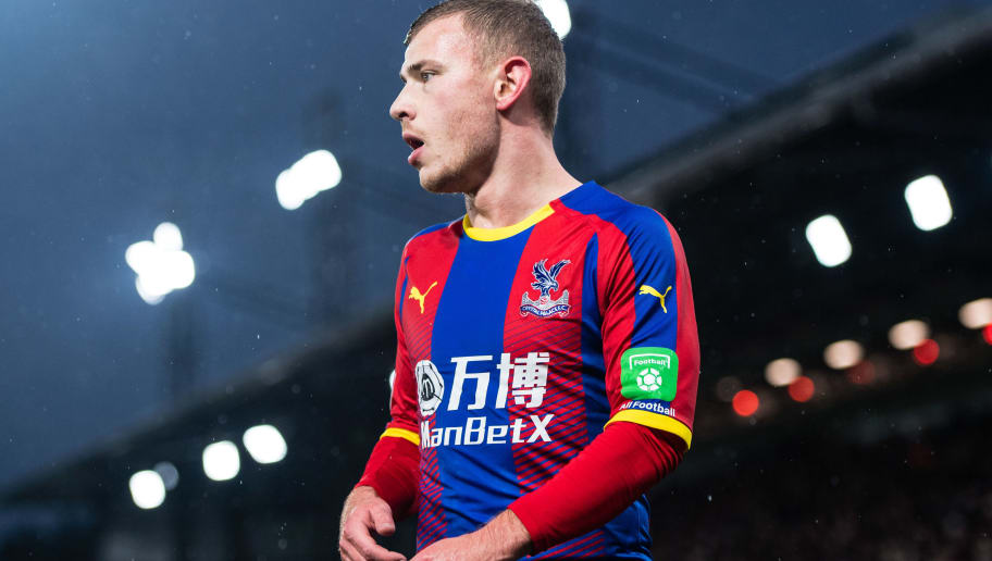 LONDON, ENGLAND - DECEMBER 15: Max Meyer of Crystal Palace looks on during the Premier League match between Crystal Palace and Leicester City at Selhurst Park on December 15, 2018 in London, United Kingdom. (Photo by MB Media/Getty Images)