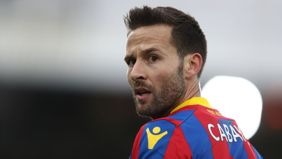 LONDON, ENGLAND - FEBRUARY 04: Yohan Cabaye of Crystal Palace during the Premier League match between Crystal Palace and Newcastle United at Selhurst Park on February 4, 2018 in London, England. (Photo by Catherine Ivill/Getty Images)