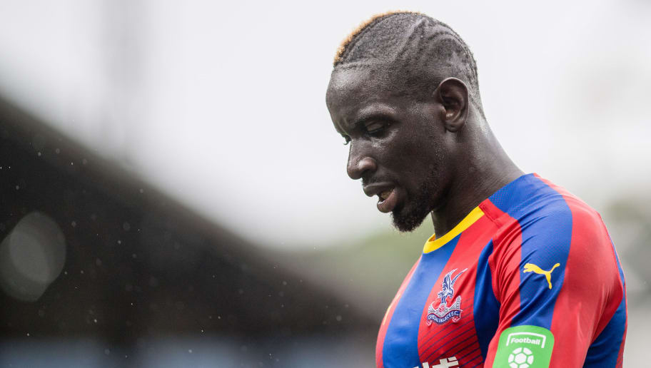 LONDON, ENGLAND - SEPTEMBER 22:   Mamadou Sakho of Crystal Palace during the Premier League match between Crystal Palace and Newcastle United at Selhurst Park on September 22, 2018 in London, United Kingdom. (Photo by Sebastian Frej/MB Media/Getty Images)