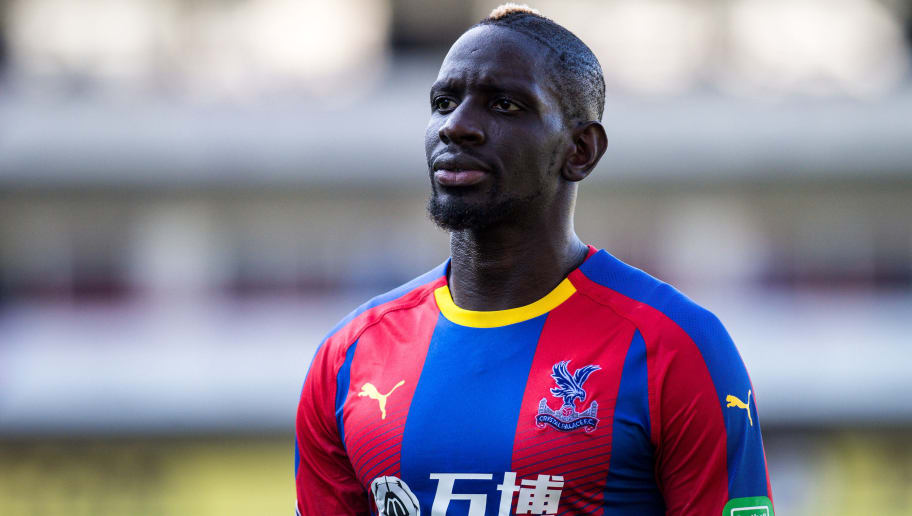 LONDON, ENGLAND - SEPTEMBER 01:   Mamadou Sakho of Crystal Palace during the Premier League match between Crystal Palace and Southampton FC at Selhurst Park on September 1, 2018 in London, United Kingdom. (Photo by  Sebastian Frej/MB Media/Getty Images)