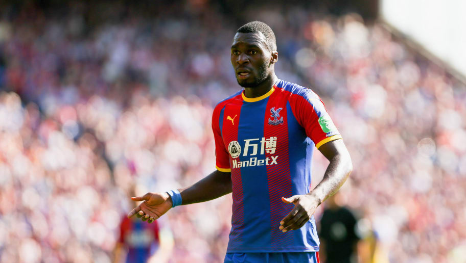 LONDON, ENGLAND - SEPTEMBER 01:  Christian Benteke of Crystal Palace looks on during the Premier League match between Crystal Palace and Southampton FC at Selhurst Park on September 1, 2018 in London, United Kingdom.  (Photo by Chloe Knott - Danehouse/Getty Images)