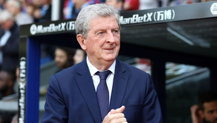 LONDON, ENGLAND - MAY 13:  Roy Hodgson, Manager of Crystal Palace looks on prior to the Premier League match between Crystal Palace and West Bromwich Albion at Selhurst Park on May 13, 2018 in London, England.  (Photo by Bryn Lennon/Getty Images)