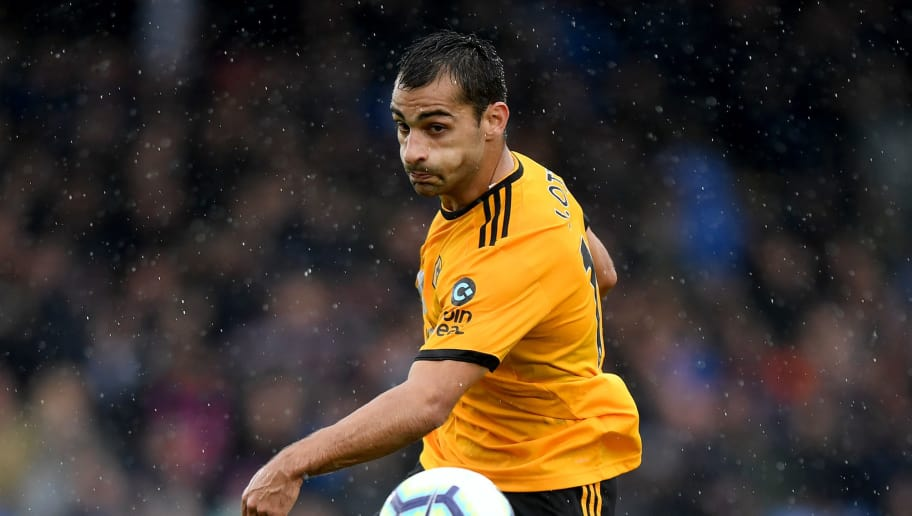 LONDON, ENGLAND - OCTOBER 06:  Jonny Otto of Wolverhampton Wanderers during the Premier League match between Crystal Palace and Wolverhampton Wanderers at Selhurst Park on October 6, 2018 in London, United Kingdom. (Photo by Sam Bagnall - AMA/Getty Images)