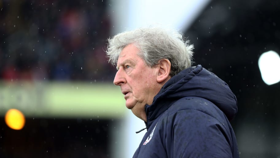 LONDON, ENGLAND - OCTOBER 06:  Crystal Palace Manager Roy Hodgson looks on prior to the Premier League match between Crystal Palace and Wolverhampton Wanderers at Selhurst Park on October 6, 2018 in London, United Kingdom.  (Photo by Bryn Lennon/Getty Images)