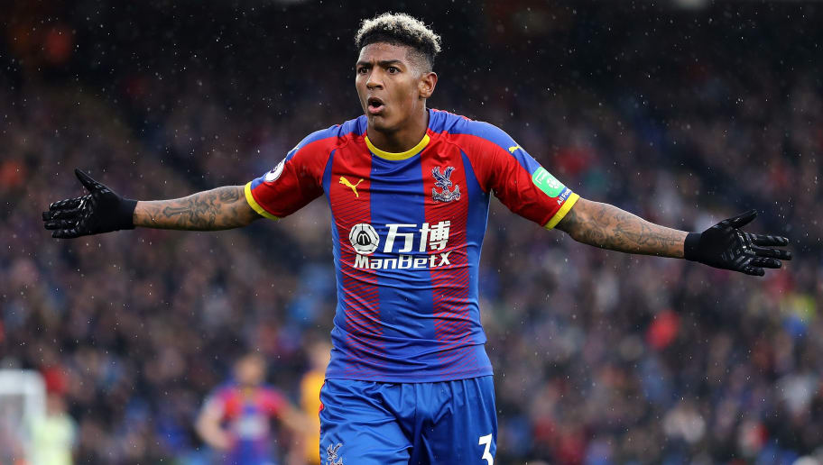 LONDON, ENGLAND - OCTOBER 06:  Patrick van Aanholt of Crystal Palace looks on during the Premier League match between Crystal Palace and Wolverhampton Wanderers at Selhurst Park on October 6, 2018 in London, United Kingdom.  (Photo by Bryn Lennon/Getty Images)