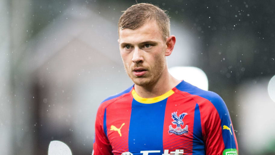 LONDON, ENGLAND - OCTOBER 06: Max Meyer of Crystal Palace looks on during the Premier League match between Crystal Palace and Wolverhampton Wanderers at Selhurst Park on October 6, 2018 in London, United Kingdom. (Photo by Sebastian Frej/MB Media/Getty Images)