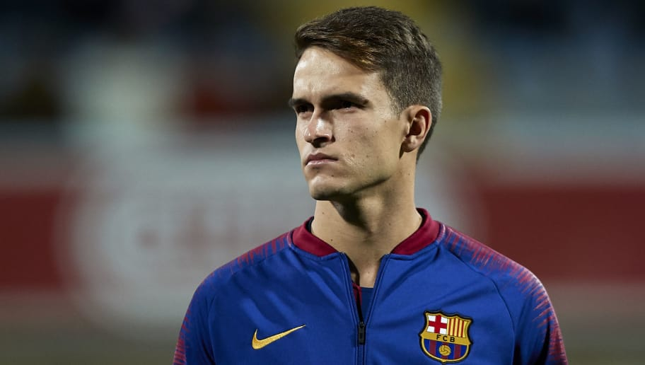LEON, SPAIN - OCTOBER 31:  Denis Suarez of FC Barcelona looks on prior to the Spanish Copa del Rey match between Cultura Leonesa and FC Barcelona at Estadio Reino de Leon on October 31, 2018 in Leon, Spain.  (Photo by Quality Sport Images/Getty Images)
