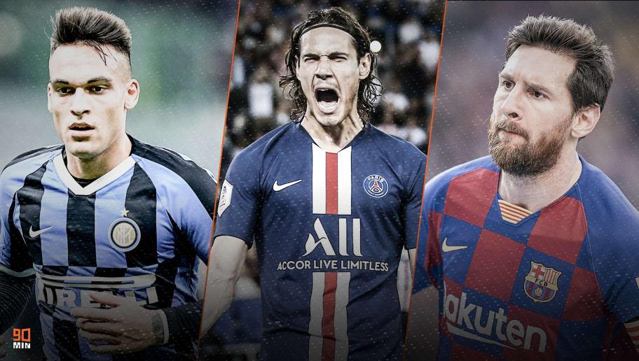 Lautaro, Cavani et Messi font l'actu mercato
