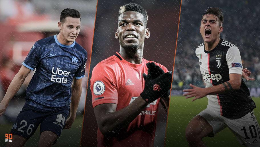 Thauvin, Pogba et Dybala font l'actu mercato