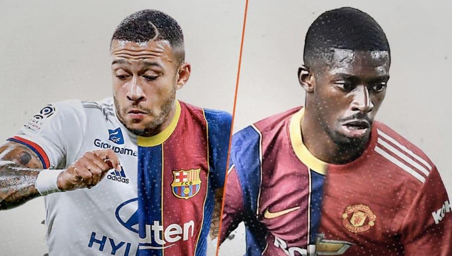 Memphis Depay sera t-il toujours Lyonnais à la fin du mercato ? Son sort semble lié à celui d'Ousmane Dembele au FC Barcelone
