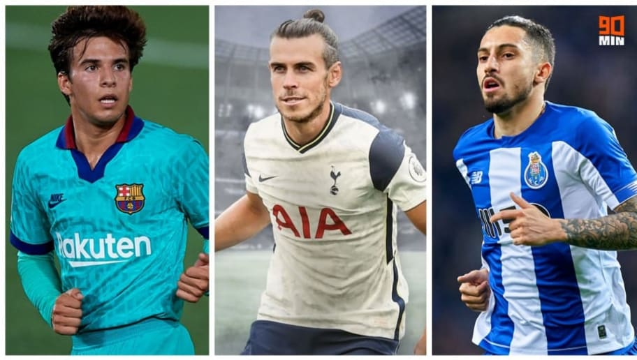 Riqui Puig, Gareth Bale et Alex Telles.