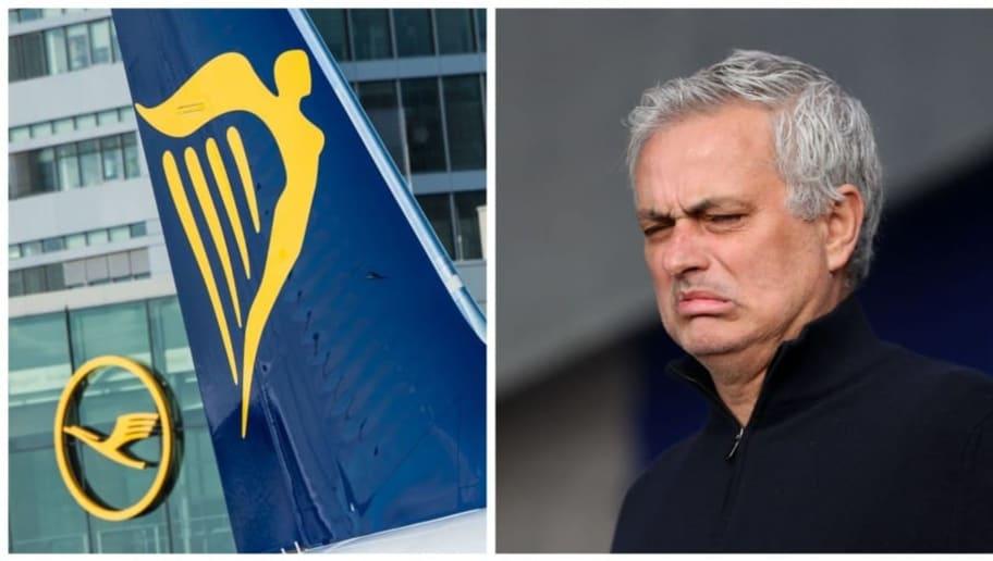 José Mourinho a eu le droit à un petit tacle de la part de Ryanair.