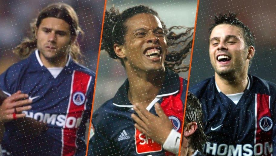 Mauricio Pochettino, Ronaldinho et Fabrice Fiorèse.