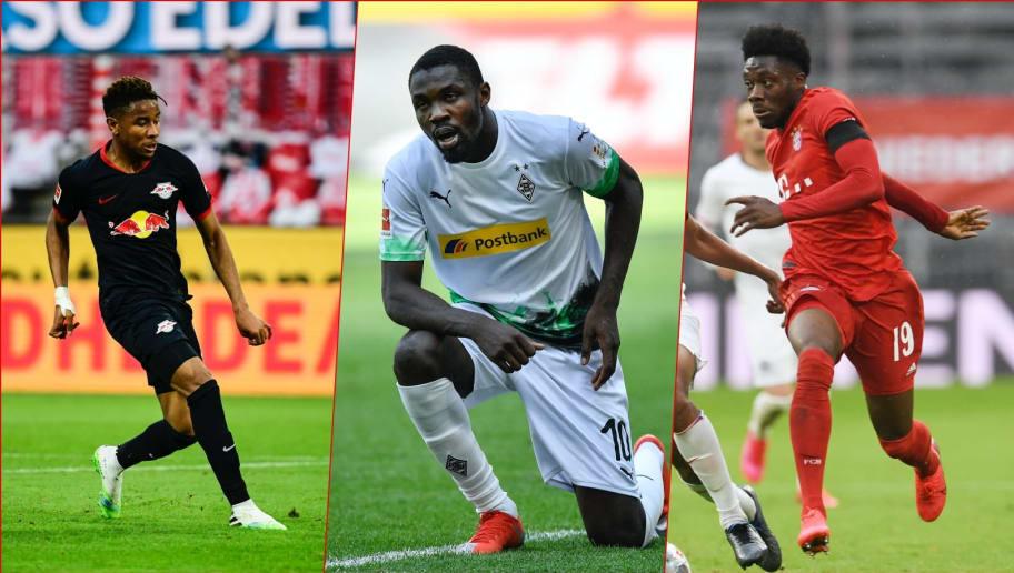 Nkunku, Thuram & Davies stehen zur Wahl für den Bundesliga-Rookie des Monats Mai