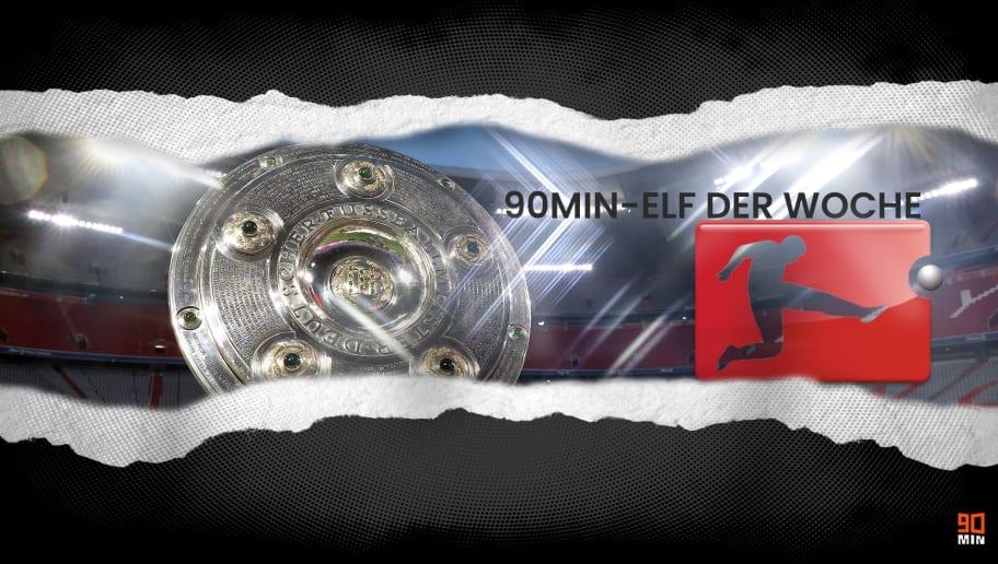 Die Elf des 5. Bundesliga-Spieltags mit drei Bayern und zwei Derby-Siegern