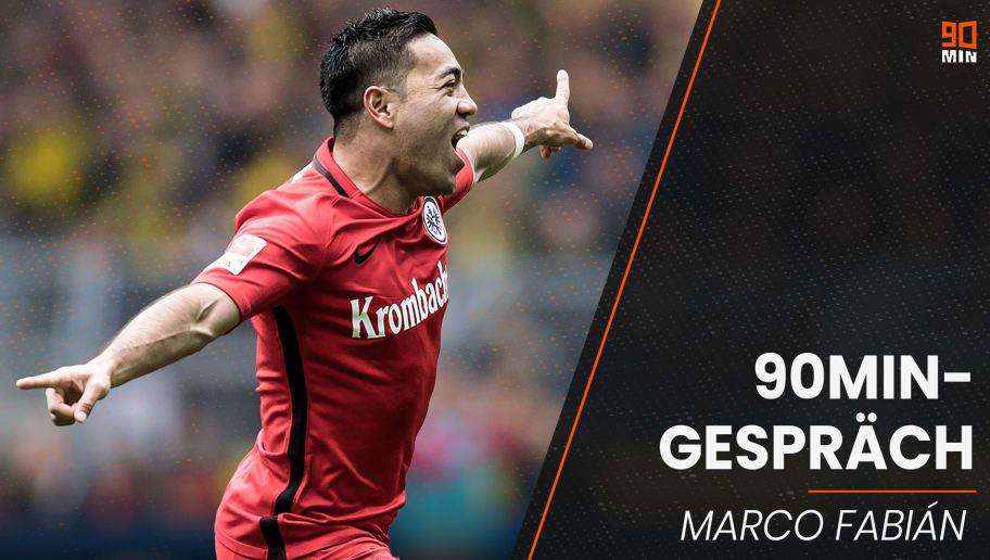 Marco Fabian erlebte drei erfolgreiche Jahre bei Eintracht Frankfurt