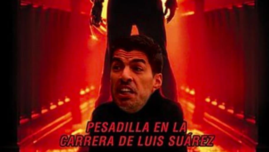 El uruguayo Luis Suárez y el Atlético Madrid quedaron eliminados por el Chelsea en los octavos de Champions.