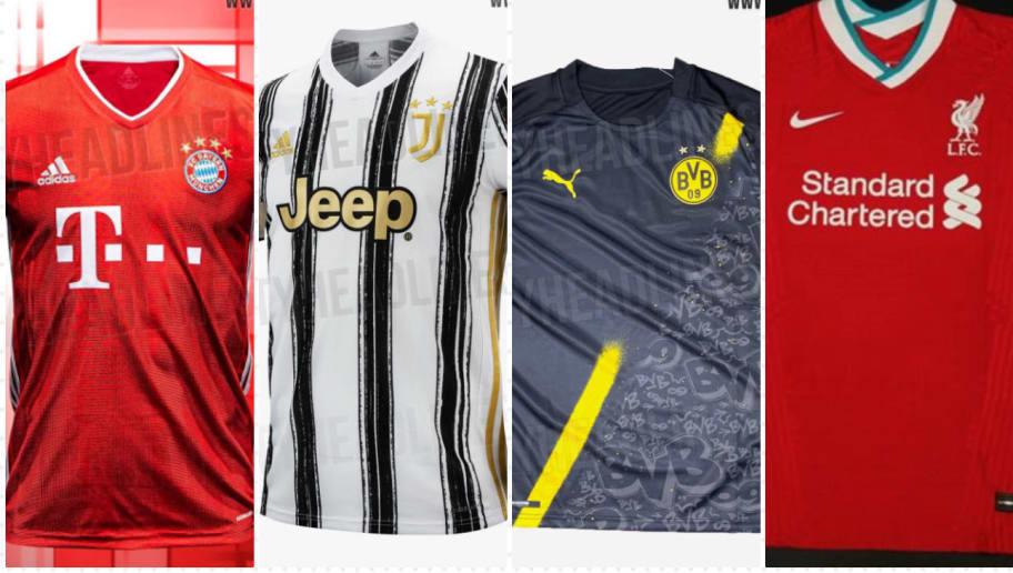 Neue Trikots 2020 21 Die Neuen Shirts Der Topklubs Fur 20 21 90min