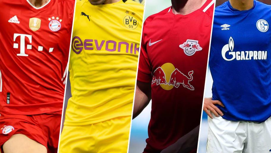 Die Trikotsponsoren der Bundesliga-Klubs