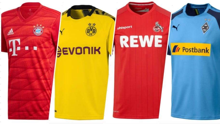 Bundesliga-Trikots zum halben Preis