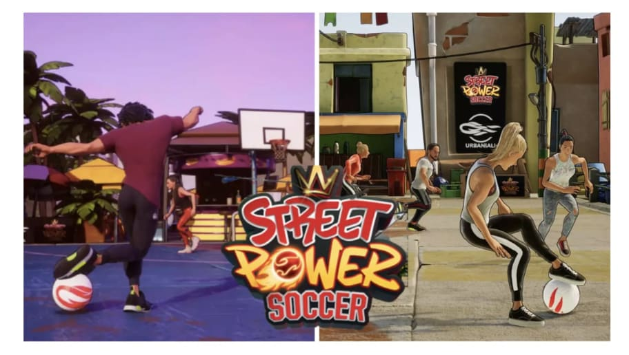 Street Power Soccer Game