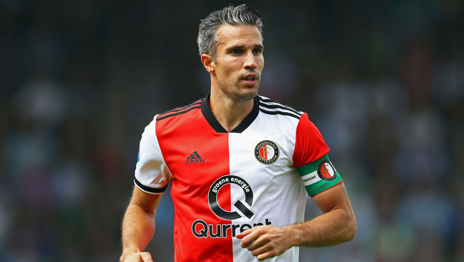 Former Arsenal Striker Robin van Persie has no Regrets About Old Trafford Move