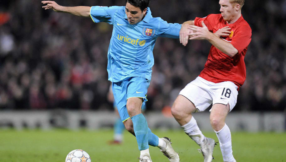 Barcelona's Portuguese midfielder Deco (