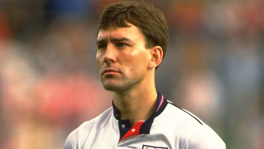 Demark v England Bryan Robson