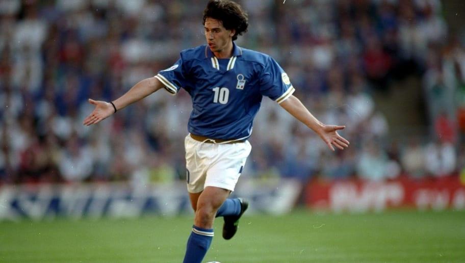 Demetrio Albertini of Italy