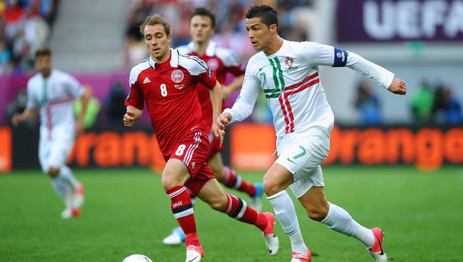 Christian Eriksen,Cristiano Ronaldo
