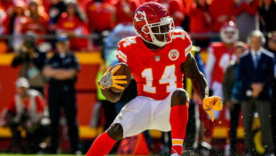 new product 4ffd7 da0d8 Chiefs WR Sammy Watkins Returning to Practice and Could Play ...
