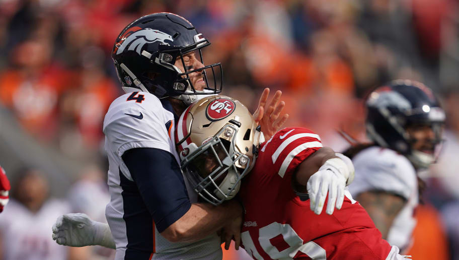Vance Joseph Calls Out Case Keenum For Being To Cautious Against The 49ers