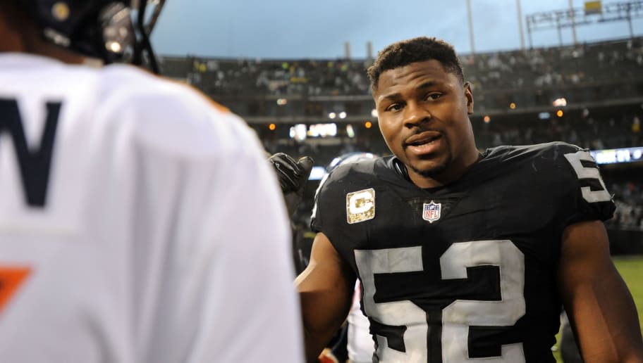 a91aeb7af REPORT: Raiders Have Rejected Trades From Multiple Teams for Star DE Khalil  Mack