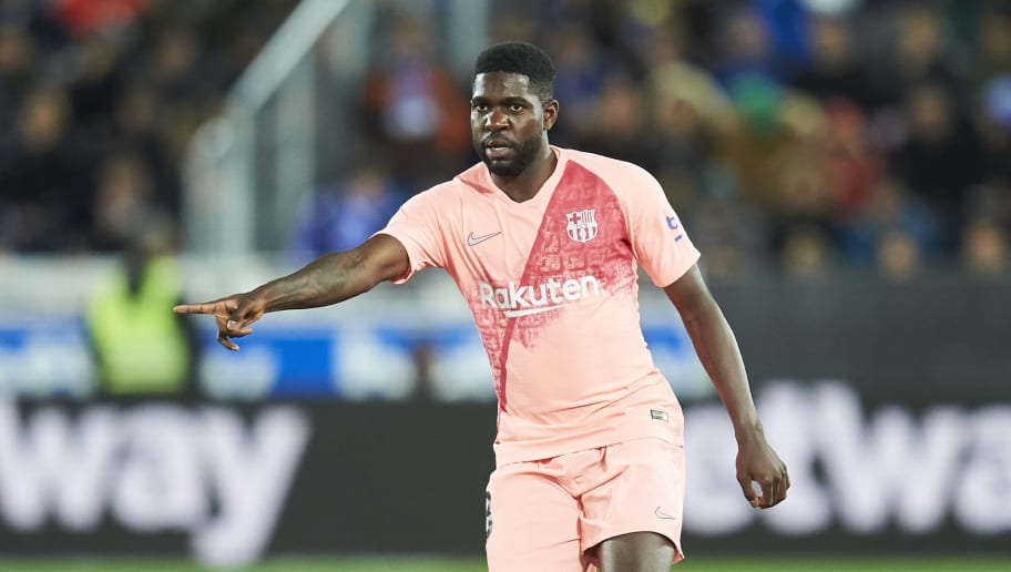 Arsenal Handed Hope in Pursuit of Samuel Umtiti With Barcelona 'Open' to Loan Deal