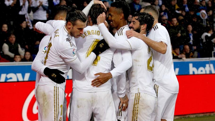 Eder Militao,Gareth Bale,Isco,Sergio Ramos