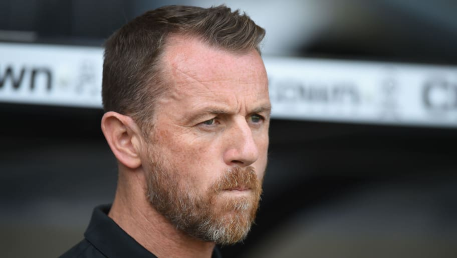 DERBY, ENGLAND - MAY 06:  Gary Rowett, Manager of Derby County looks on during the Sky Bet Championship match between Derby County and Barnsley at iPro Stadium on May 6, 2018 in Derby, England.  (Photo by Tony Marshall/Getty Images)