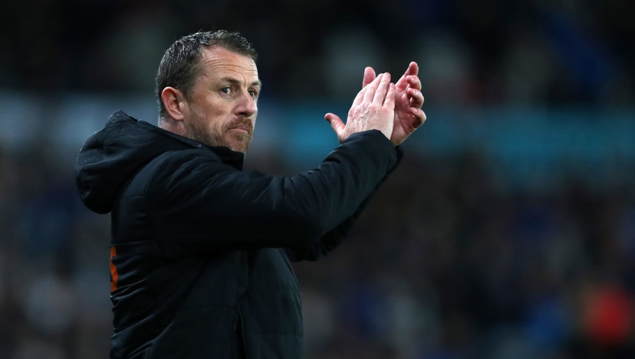 DERBY, ENGLAND - APRIL 24: Gary Rowett manager of Derby County during the Sky Bet Championship match between Derby County and Cardiff City at iPro Stadium on April 24, 2018 in Derby, England. (Photo by Catherine Ivill/Getty Images)