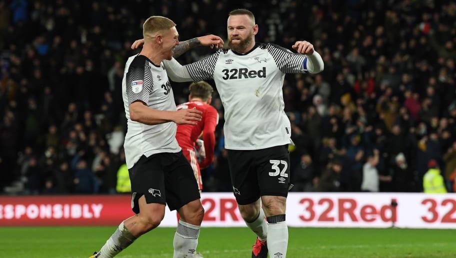 Wayne Rooney,Martyn Waghorn