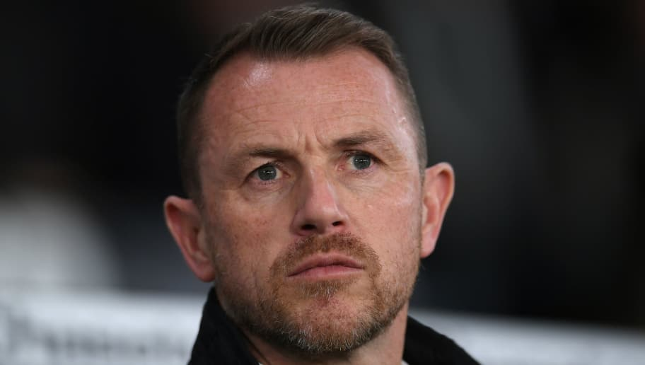 DERBY, ENGLAND - FEBRUARY 21:  Gary Rowett manager of Derby County during the Sky Bet Championship match between Derby County and Leeds United at iPro Stadium on February 21, 2018 in Derby, England.  (Photo by Laurence Griffiths/Getty Images)