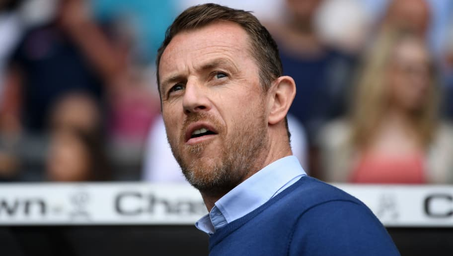 DERBY, ENGLAND - APRIL 21:  Derby County manager Gary Rowett during the Sky Bet Championship match between Derby and Middlesbrough at iPro Stadium on April 21, 2018 in Derby, England.  (Photo by Gareth Copley/Getty Images)