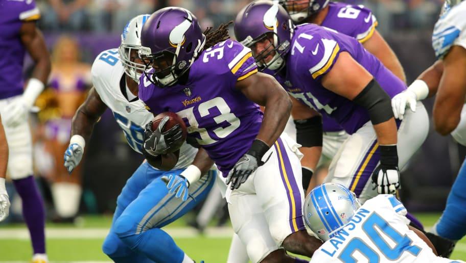 Vikings Dalvin Cook starting to pile up rushing yards