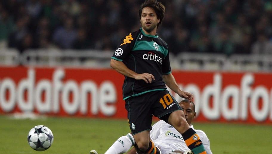 Brazilian Diego Ribas da Cunha of Werder