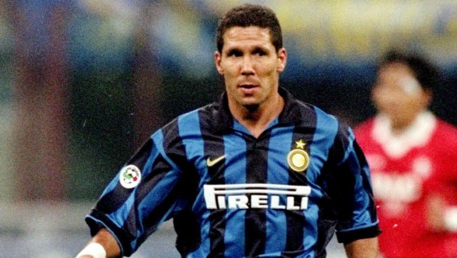 Diego Simeone of Inter Milan