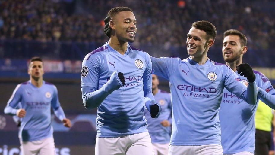 Dinamo Zagreb v Manchester City: Group C - UEFA Champions League
