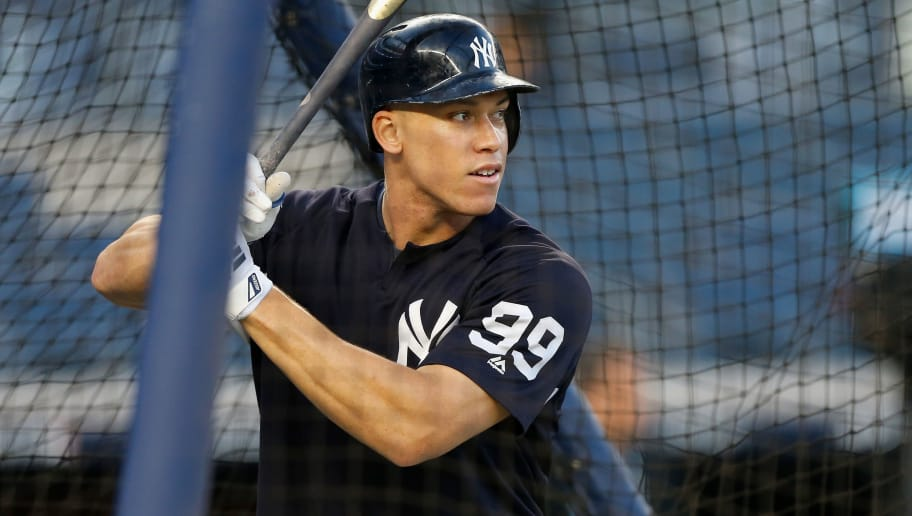 There's Speculation Aaron Judge is Getting Back Together With His Ex