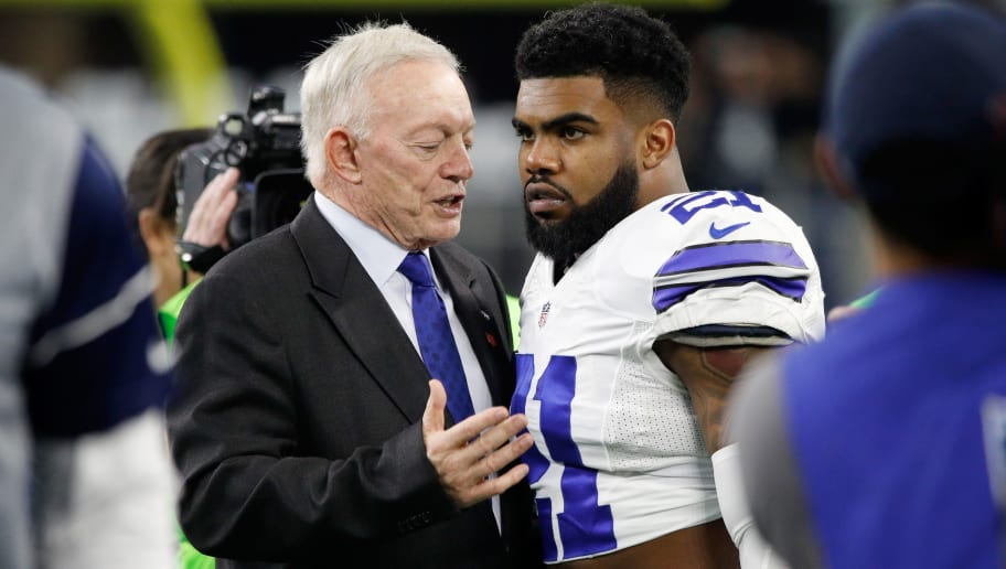 Jerry Jones,Ezekiel Elliott